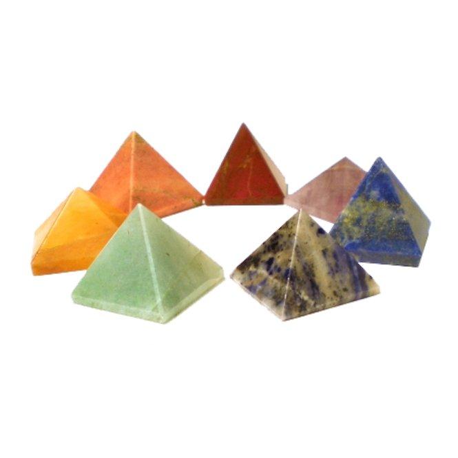 Edelsteen piramide