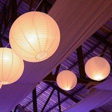 Japanse rijstpapier lampen