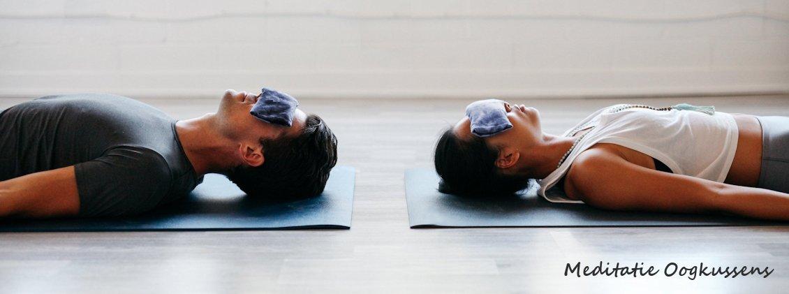 Meditatie oogkussen