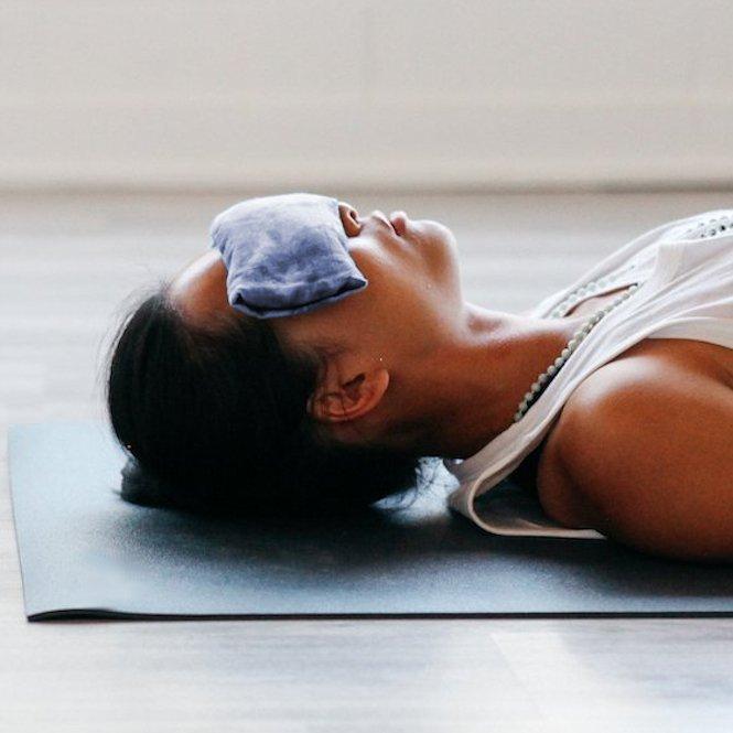 Yoga oogkussen