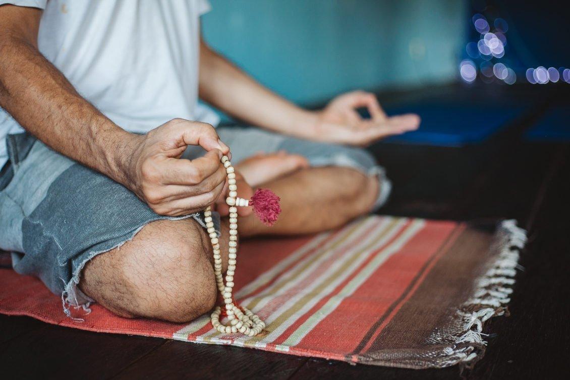 yoga dekens en handdoeken