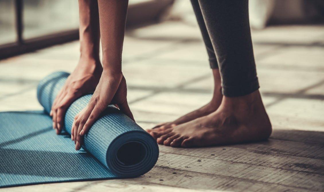 yogamatten en props